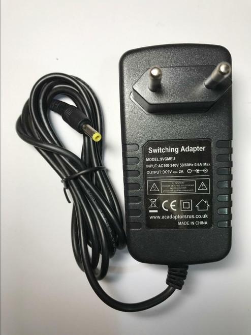 Tevion Fascin8 Fascin 8 1464/40656 Portable DVD Player AC Adaptor Mains Charger