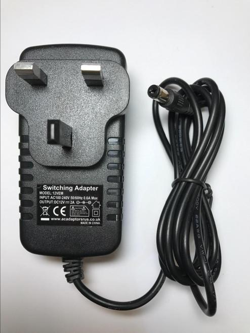 Silvercrest SDV-702 KSAD1200150W1UK AC Power Adaptor