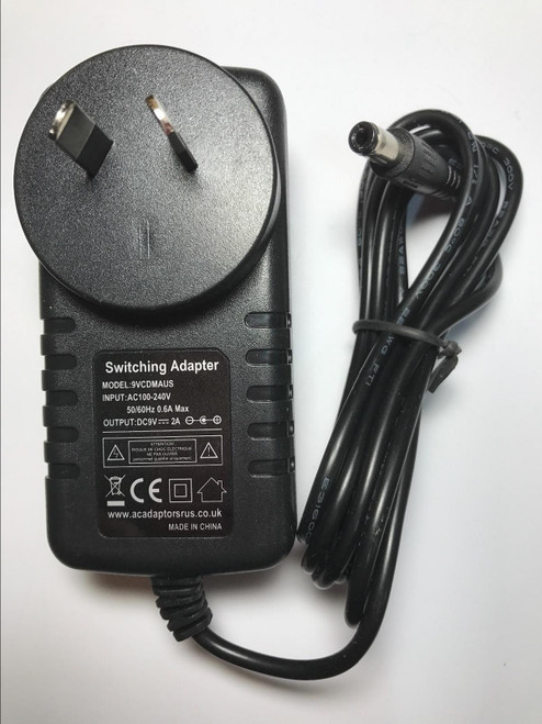 AU Vtech InnoTab/MobiGo/Storio/V.Smile/Cyber Pocket 9V AC Power Adaptor Charger