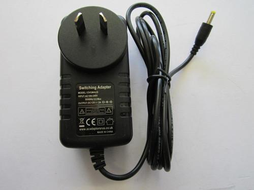 AUS LG DP450 Portable DVD Player Mains Charger 12V AC Adaptor Power Supply AU