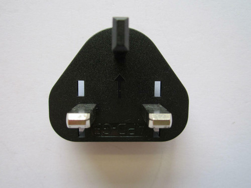 UK Slide Attachment Plug Piece for Logitech Alert NA750 AC-DC Switching Adapter