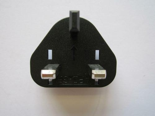 UK Slide Attachment Plug Piece for Logitech Alert NA750 AC Adaptor Power Supply