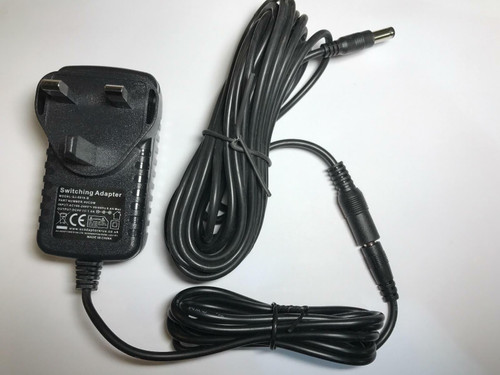 6 Metre Long 9V Mains AC Adaptor Charger for Leapfrog Leappad/Leapster Explorer