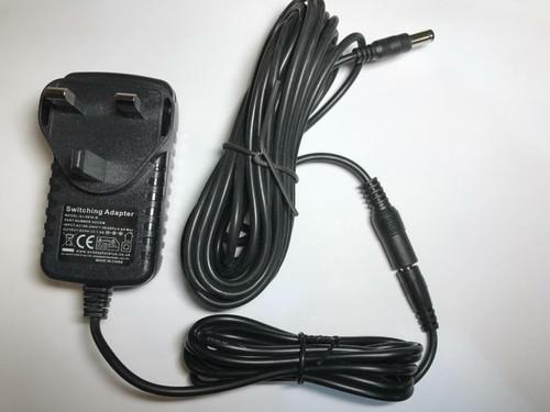 6 Metre Long 9V AC Adaptor Charger Power Supply for Vtech Innotab/Storio/Mobigo