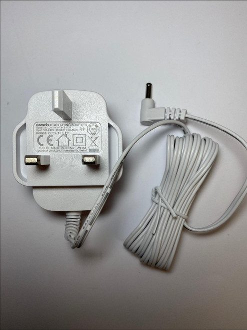 WHITE Replacement for TOMY 5E-AD060050-B 6V 0.5A AC-DC Adaptor Charger UK Plug