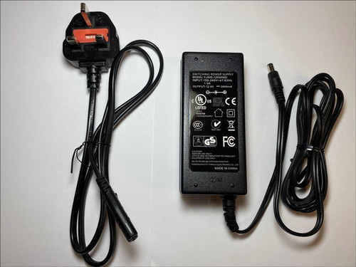 Replacement for 12V 5.0A AC DC Adapter ZF120A-1205000 ITE Power Supply UK Plug