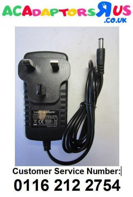 8V AC-DC Adaptor Power Supply for Bush Portable DAB/FM Stereo Radio CDAB51R