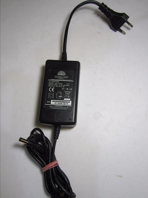 Daewoo DPC-7600PD Portable DVD Player AC Adaptor Mains Charger Power Supply EU