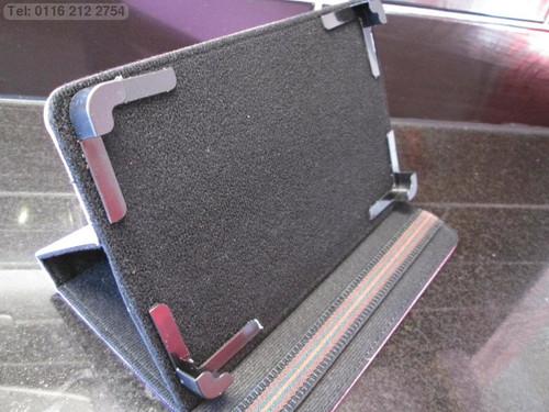 "Purple 4 Corner Support Multi Angle Case/Stand Samsung Galaxy Tab/Tab2 7"" Tablet"
