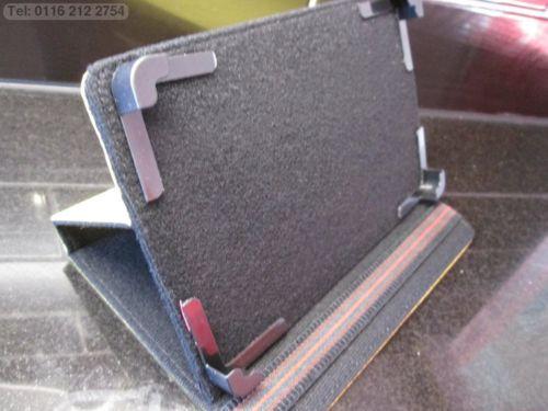 Yellow 4 Corner Grab Multi Angle Case/Stand Lenovo S5000 7 Inch Tablet - 16GB