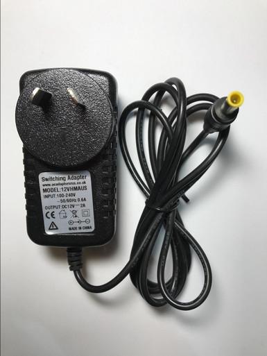 12V 2A AC-DC Adaptor Power Supply for WD MyBook Essential KTEC KSAS0241200150HE