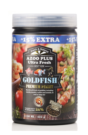 Ultra Fresh Goldfish Premium Pellets 1150mL