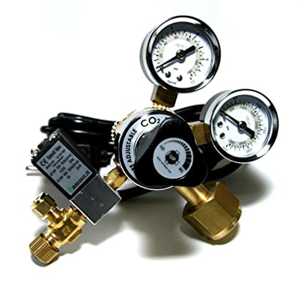 UP-Aqua CO2 Adjustable Regulator & Solenoid