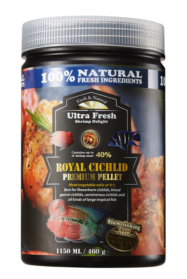 Ultra Fresh Royal Cichlid Premium Pellet 1150mL
