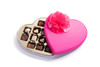 Heart Box With Dairy Coco Bliss Chocolates