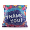 Thank You Sequin Pillow