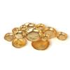 """Twelve Gold Cluster Bowls- Extra Large -28"""""""