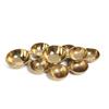 9 Gold Cluster Bowls- Antique