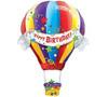 "Helium Hot Air Birthday Balloon Extra Large -42"""