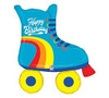 "Helium Birthday Skate Extra Large- 39"""
