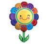 """Helium Feel Better Flower Balloon Large- 29"""""""