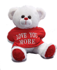 Love You More Teddy Bear