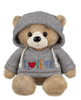 I love you Hoodie Teddy Bear-10""