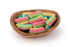 Sugared Rainbow Logs