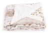 Deluxe Baby Blanket Siberian Tiger with Candy Sticks