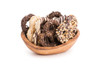 Chocolate Dipped Pretzels Elegant Toppings