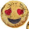 Emoji Sequin Pillow
