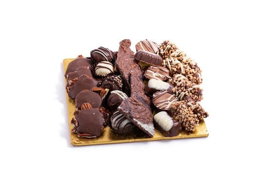 """Milk Chocolate Platter-8"""" Square"""