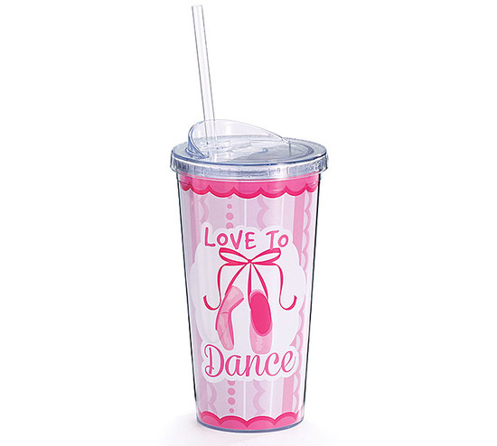 Love To Dance Tumbler