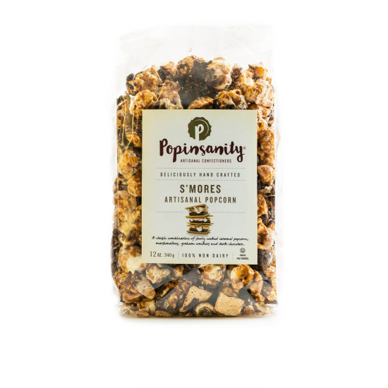 Popinsanity Artisan Popcorn -12oz. Bag