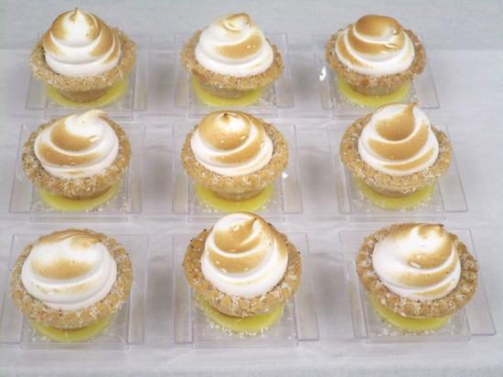 Miniature Lemon Mirangue Cups-16pc