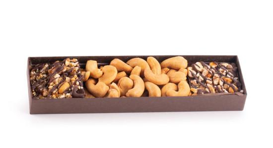 Chocolate Bark & Cashew Gift Box