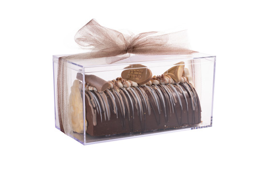 Acrylic Boxed Purim Praline Log