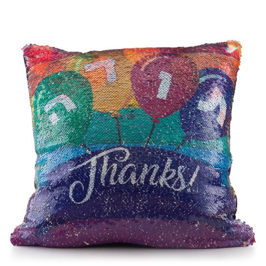 Thank You Sequin Pillow