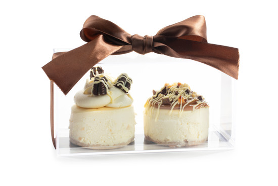 Cheese Cake Minis- Acrylic Boxed- 2 Piece