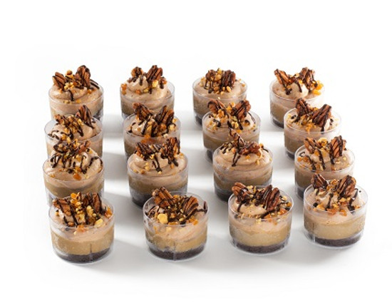 Chocolate Mousse Cups-16 Pc.