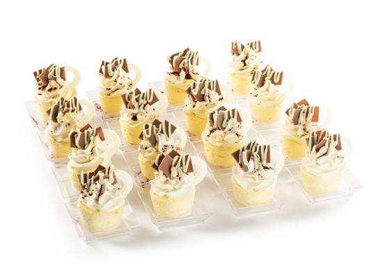 Miniature Cheese Teacups Pareve-16 Pc