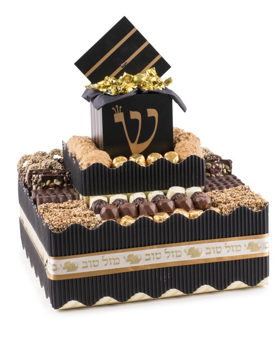 Bar Mitzvah Centerpiece With Tefillin Box -Local Delivery Only