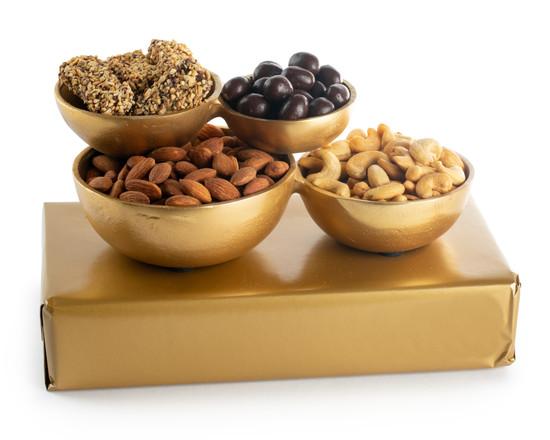Gold Cluster Bowls