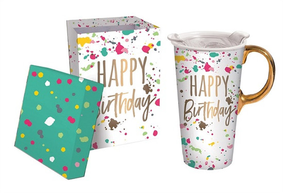 Ceramic Birthday Mug