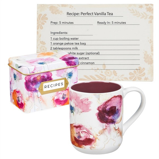 Mug & Recipe Holder