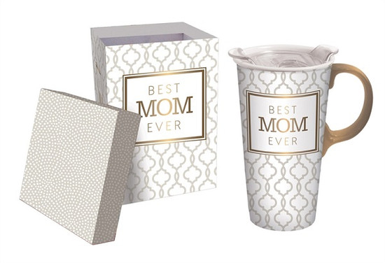 Ceramic Travel Mug- Mom