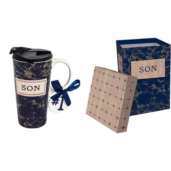 Ceramic Travel Mug- Son