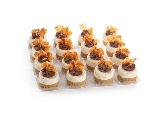 Peanut Crunch Dome Miniatures-16Pc.