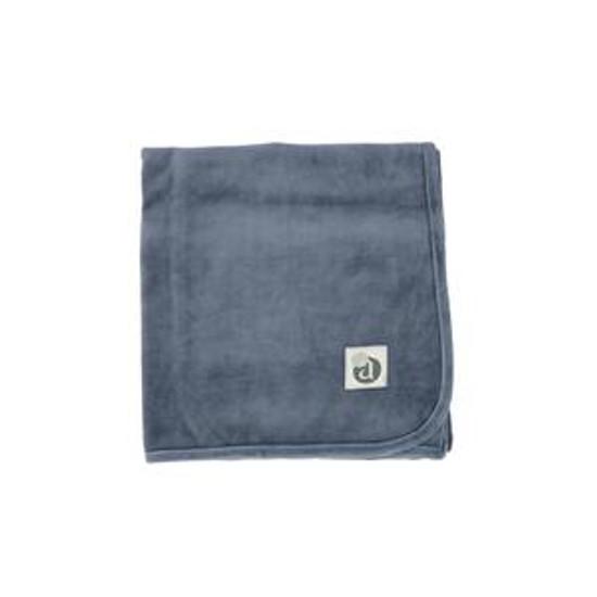 Velour Blanket Slate