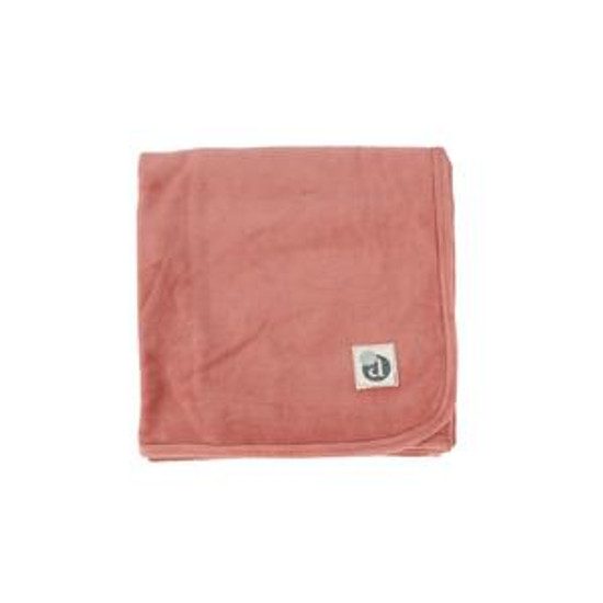 Velour Blanket Sunset Rose
